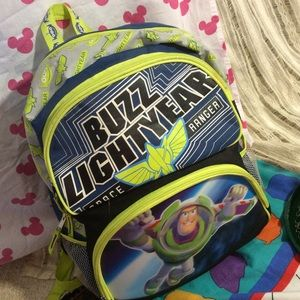Holographic Disney Buzz Lightyear Alien Backpack